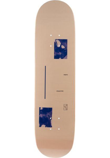 Poetic Collective Skateboard Decks Fluid cream vorderansicht 0262122