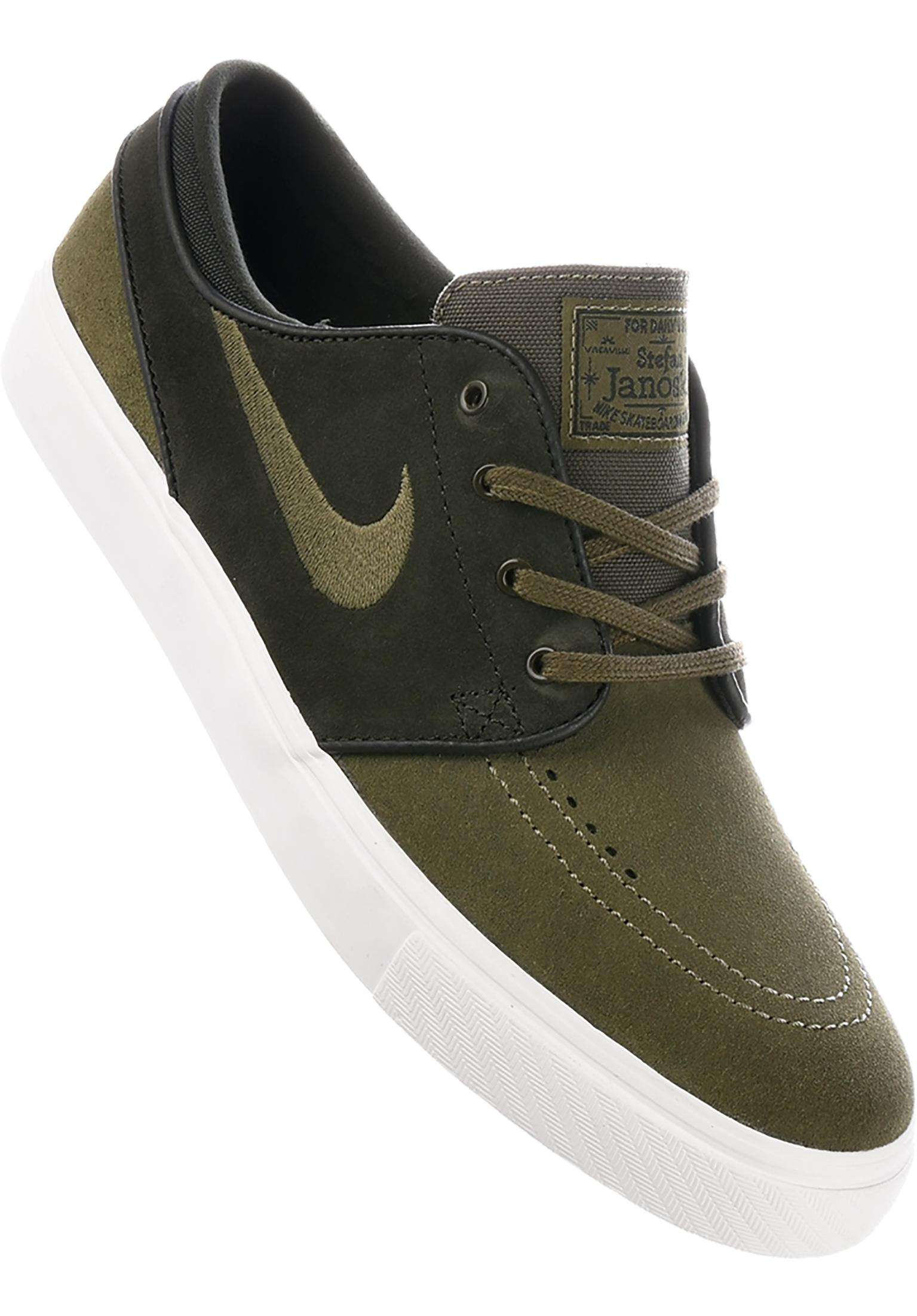 9d9b595b101f Zoom Stefan Janoski Nike SB All Shoes in sequoia-meidumolive for Men ...