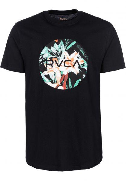 RVCA T-Shirts Motors Fill black vorderansicht 0399892