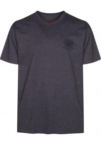 Spitfire T-Shirts Classic charcoalheather Vorderansicht