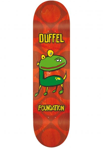 Foundation Skateboard Decks Duffel Barkee natural vorderansicht 0262506