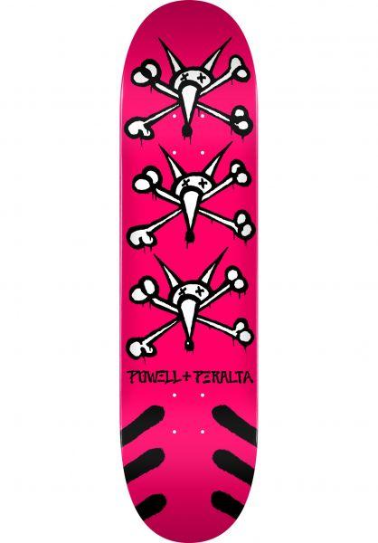 Powell-Peralta Skateboard Decks Vato Rats Birch pink vorderansicht 0118486