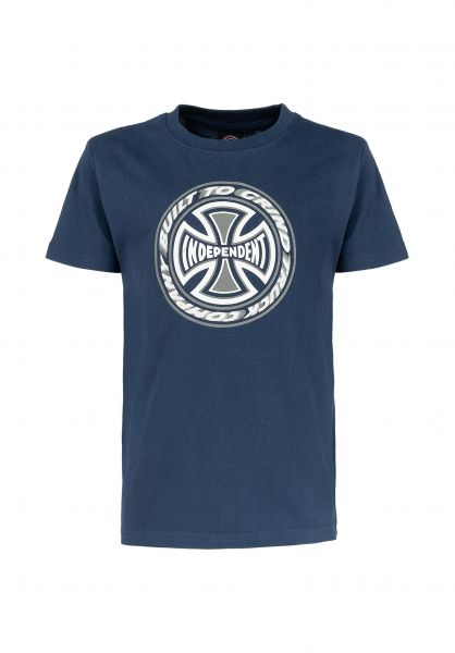 Independent T-Shirts Youth TC Blaze navy unteransicht 0321692