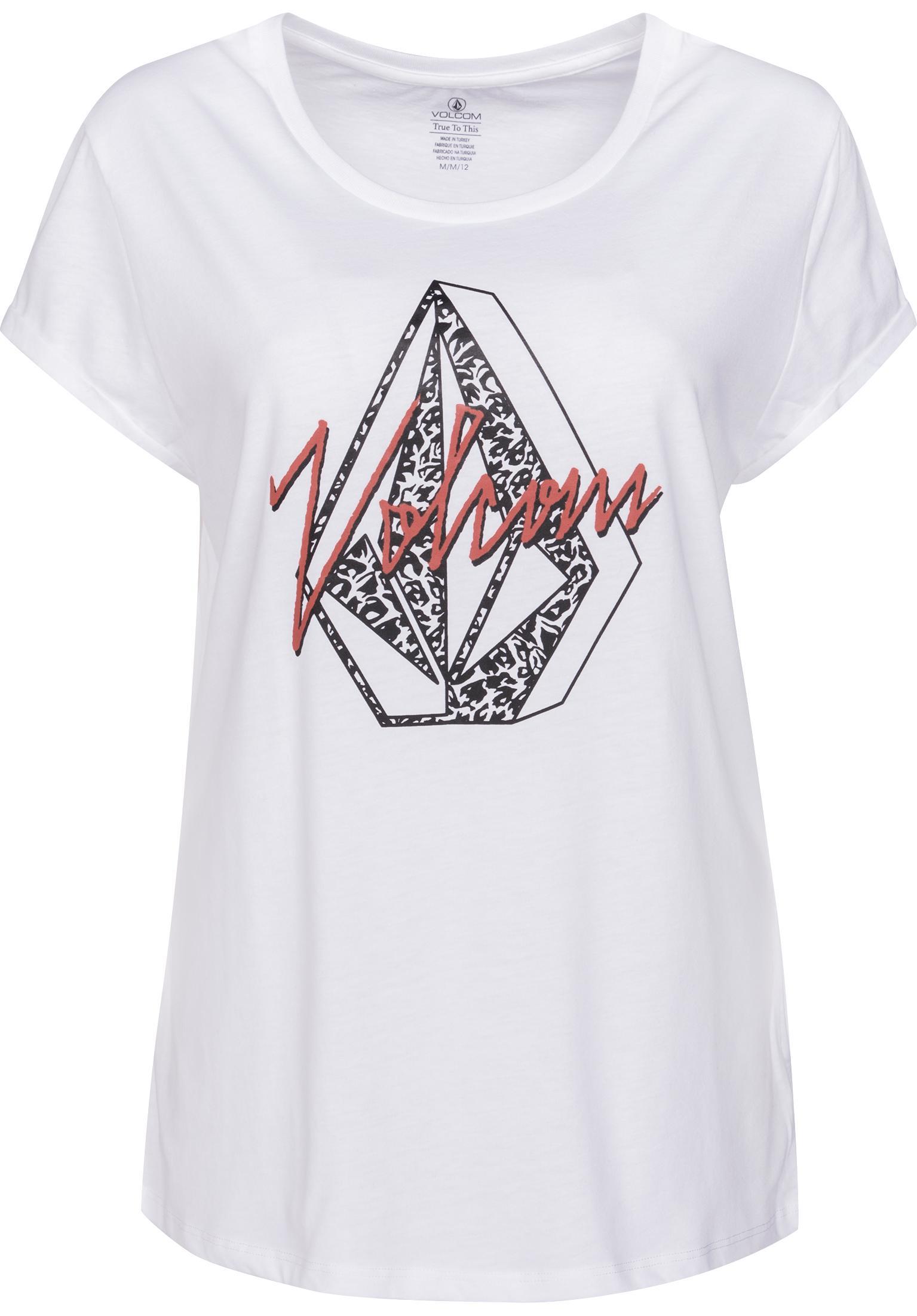 Radical Daze Volcom T-Shirts in white für Damen   Titus f0a04452cf