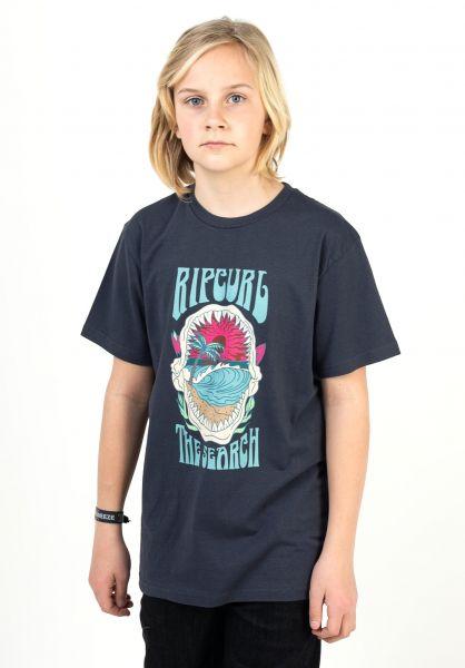 Rip Curl T-Shirts Jawbreaker navy vorderansicht 0323991