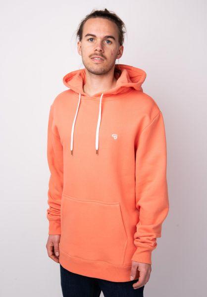 TITUS Hoodies Uni Hood peach vorderansicht 0442202