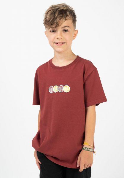TITUS T-Shirts Semjon Kids red-ochre vorderansicht 0320934