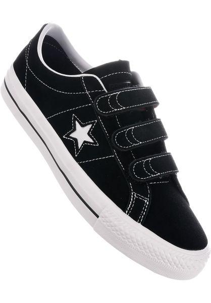Converse CONS Alle Schuhe One Star Pro 3V black vorderansicht 0604488