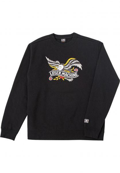 Loser-Machine Sweatshirts und Pullover Gateway black vorderansicht 0422927
