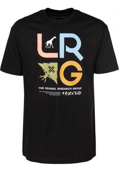 117cad6f7 Research Icon LRG Camisetas in black für Hombre   Titus