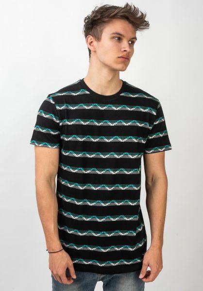 iriedaily T-Shirts Petit Jaque black vorderansicht 0321457