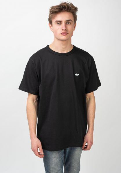 adidas-skateboarding T-Shirts Mini Shmoo black-grey vorderansicht 0321735