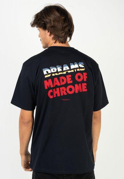 Carhartt WIP T-Shirts Dreams darknavy vorderansicht 0322391