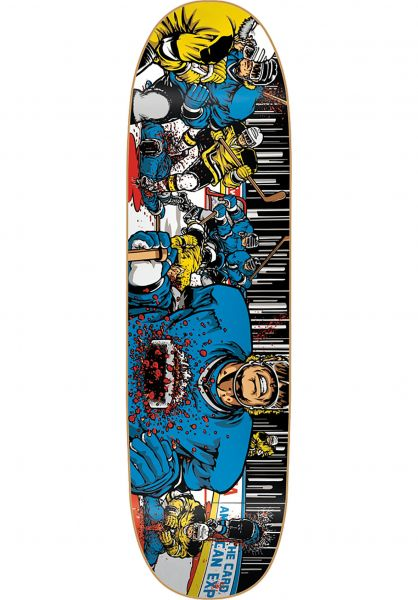 Heritage Reissue Skateboard Decks Koston 101 Hockey multicolored vorderansicht 0260210