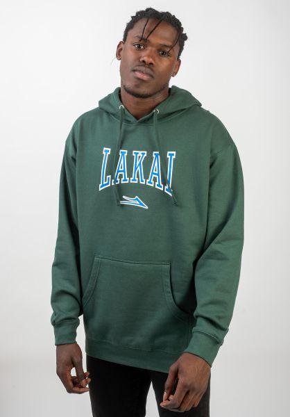 Lakai Hoodies Varsity alpinegreen vorderansicht 0445609