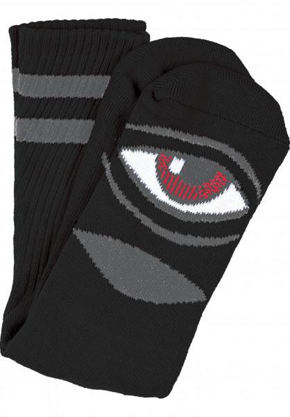 Toy-Machine Socken Sect-Eye-III black Vorderansicht