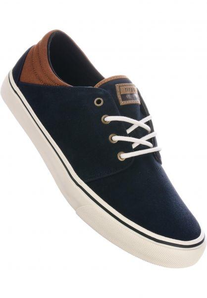 TITUS Alle Schuhe Hudson darknavy-brown-white vorderansicht 0604301