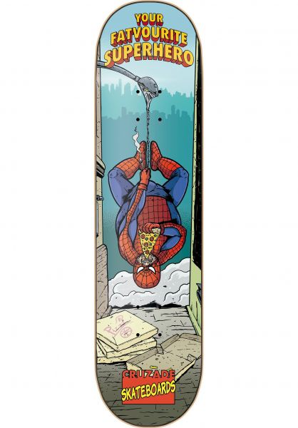 Cruzade Skateboard Decks Your Favorite Superhero 1 multicolored vorderansicht 0260980