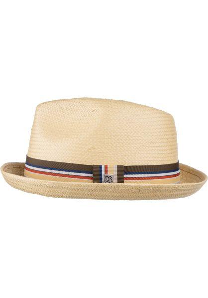 Brixton Hüte Castor Fedora tan vorderansicht 0580365