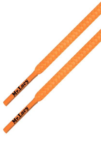Mr. Lacy Schnürsenkel Goalies Slim bright-orange vorderansicht 0640049