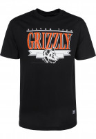 Grizzly T-Shirts Silver Tip Cup black Vorderansicht