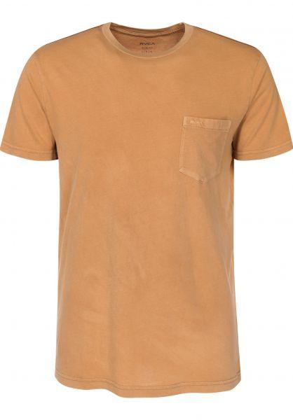 RVCA T-Shirts PTC 2 Pigment apple-cinnamon Vorderansicht