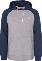 etnies Hoodies Corp Box navy-grey Vorderansicht 0444440