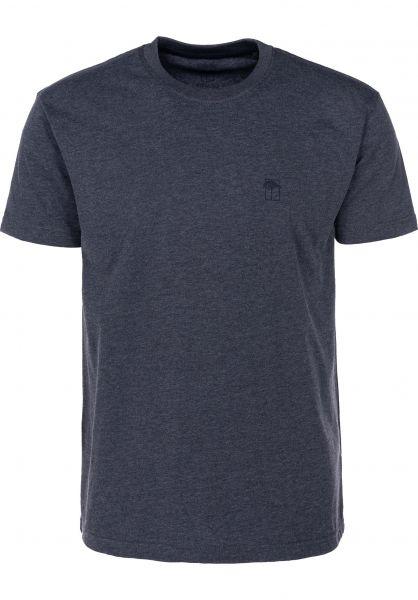 Mahagony T-Shirts Small T.O.L navy vorderansicht 0399468