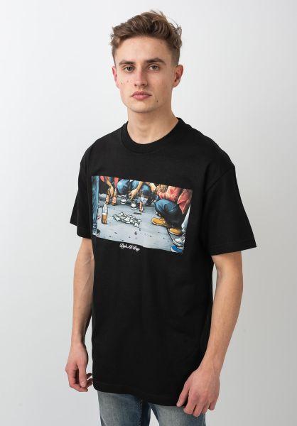DGK T-Shirts Hustle black vorderansicht 0398007