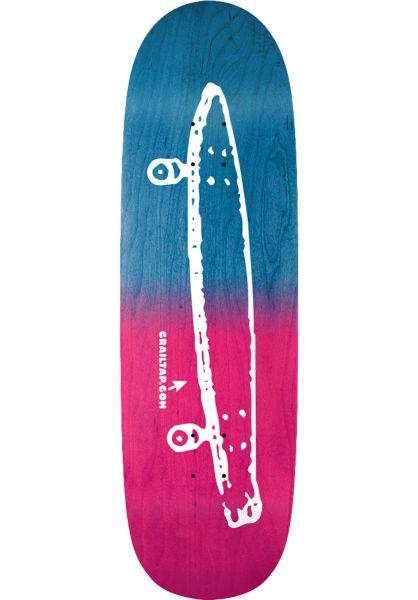 Crailtap Skateboard Decks Gradient blue-pink vorderansicht 0262959