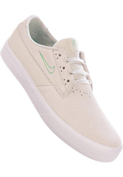 Nike SB Alle Schuhe Shane summitwhite-luckygreen vorderansicht 0604764