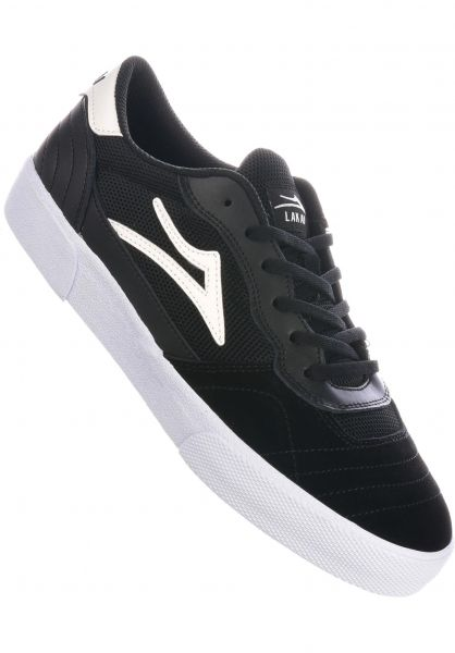 Lakai Alle Schuhe Cambridge black-white vorderansicht 0604604