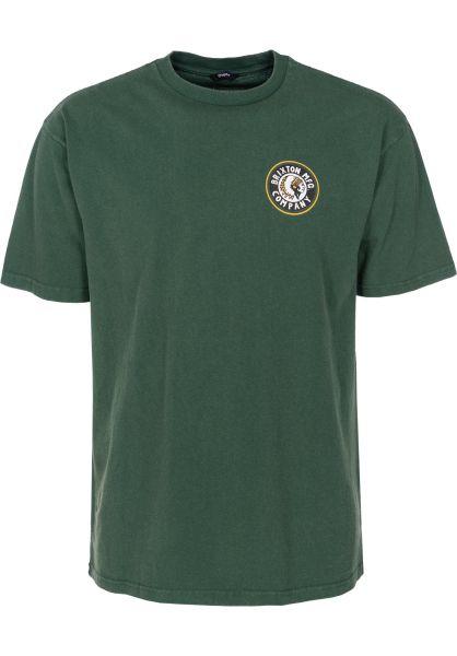 Brixton T-Shirts Rival II evergreen vorderansicht 0395662