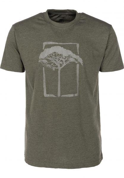 Mahagony T-Shirts T.O.L olive vorderansicht 0399464