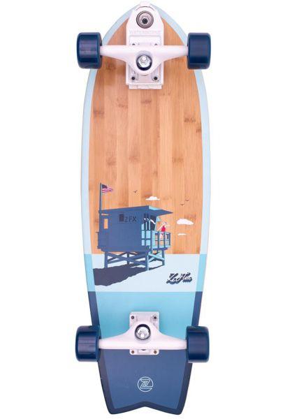 "Z-Flex Cruiser komplett Bamboo Surfskate Fish 31"" blue vorderansicht 0252748"