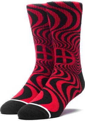HUF x Spitfire Swirl Socks