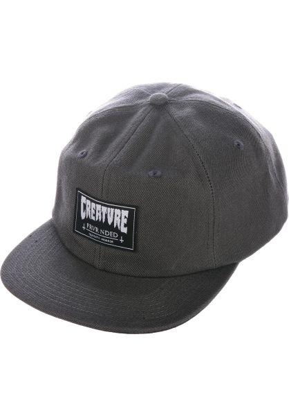 Creature Caps Frvr Nded Snapback grey vorderansicht 0566175