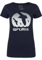 Rules T-Shirts Doves Girls deepnavy-mint Vorderansicht