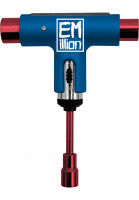 EMillion Skate-Tools x Silver Tool blue-red Vorderansicht