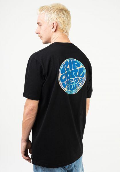 Rip Curl T-Shirts Wetty Party black vorderansicht 0323561