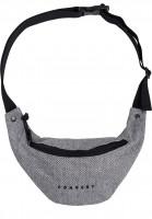 Forvert-Hip-Bags-Leon-flannel-grey-Vorderansicht