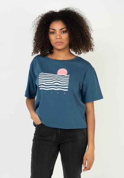 TITUS T-Shirts Sunset Uni stellar vorderansicht 0322353