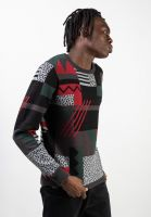 iriedaily-strickpullover-crazy-fresh-knit-hunter-red-vorderansicht-0144080