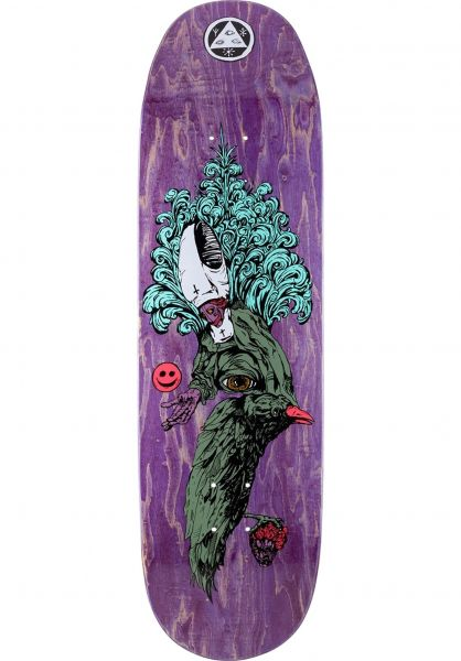 Welcome Skateboard Decks Tonight I´m Yours Baculus 2 various stains vorderansicht 0265480