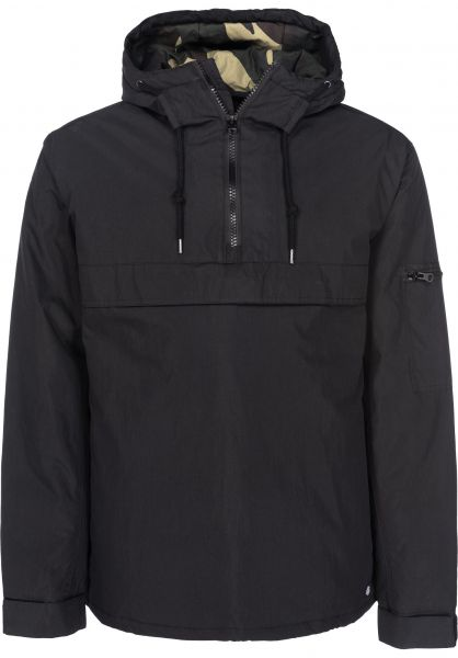 Dickies Winterjacken Belspring black Vorderansicht