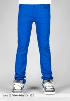 TITUS Hosen und Jeans Tube Fit Kids royalblue Vorderansicht