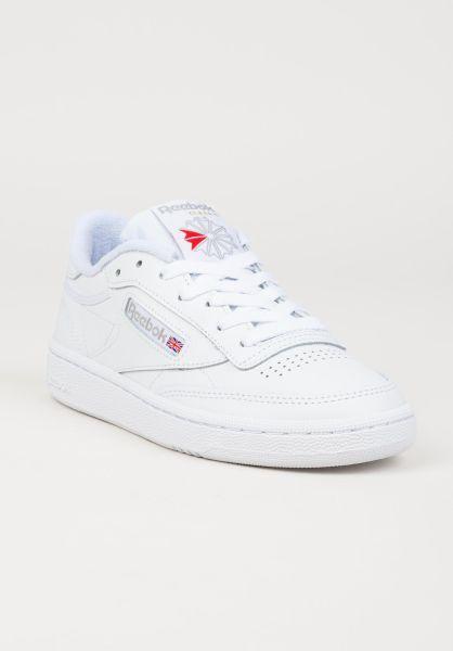 5fbf60d324 Für 85 Club Alle Schuhe C Reebok White Lightgrey In DamenTitus xoeBrCdW