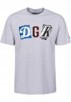 DGK T-Shirts Mash Up athleticheather Vorderansicht