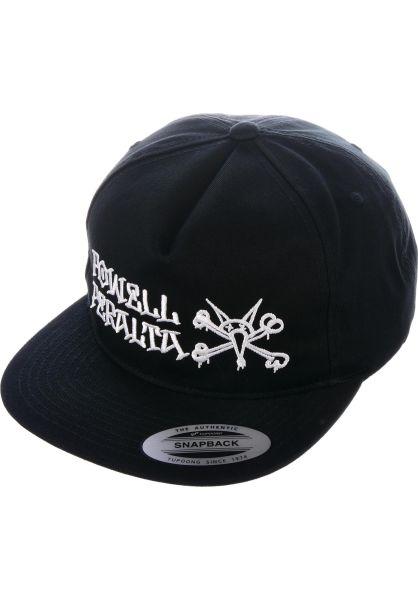 Powell-Peralta Caps Rat Bones Snapback black vorderansicht 0565617