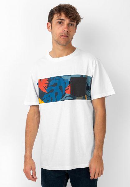 Rip Curl T-Shirts Busy Season opticalwhite vorderansicht 0321543